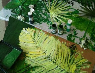 Printing with Plants